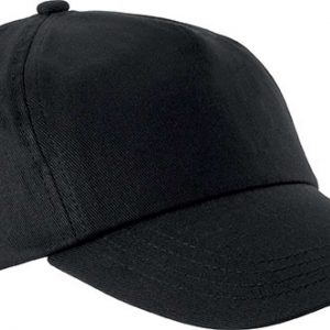 Black K-UP FIRST - 5 PANEL CAP Sapkák