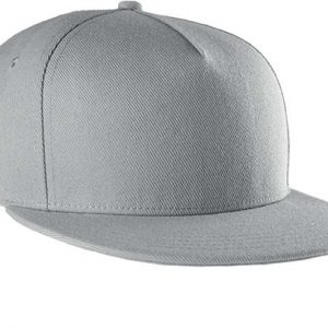 Light Grey K-UP SNAPBACK CAP - 5 PANELS Sapkák