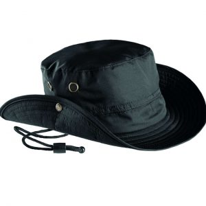 Black K-UP OUTDOOR HAT Sapkák