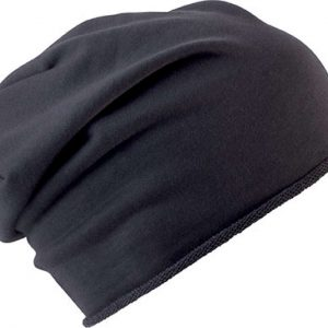 Dark Grey K-UP ROLL EDGE BEANIE Sapkák