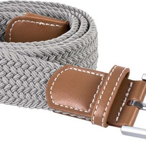 Light Grey K-UP BRAIDED ELASTICATED BELT Táskák és Kiegészítők