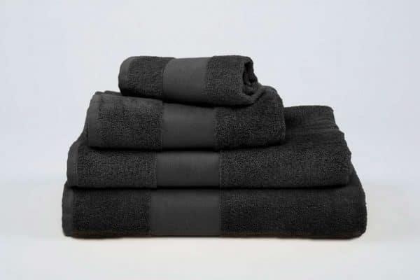 Black Olima OLIMA CLASSIC TOWEL Törölközõk