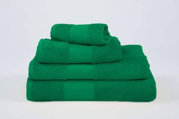 Kelly Green Olima OLIMA CLASSIC TOWEL Törölközõk