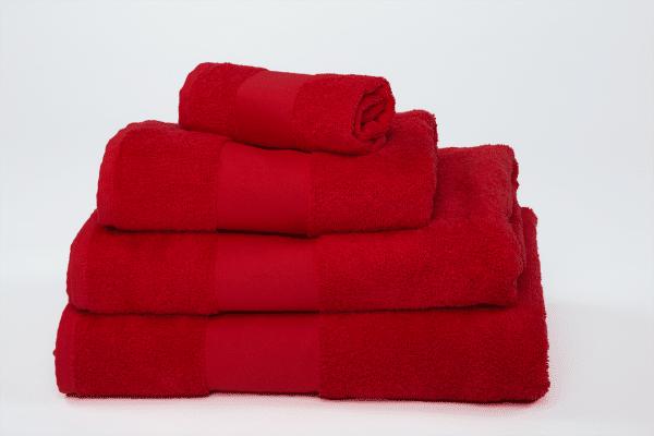 Red Olima OLIMA CLASSIC TOWEL Törölközõk