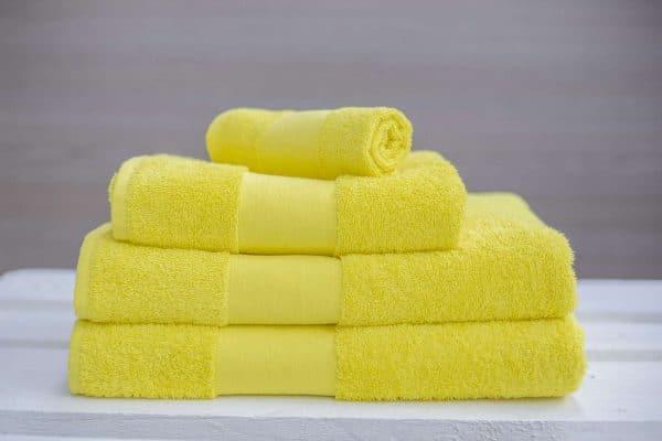 Yellow Olima OLIMA CLASSIC TOWEL Törölközõk