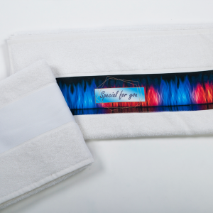 Olima OLIMA TOWEL WITH SUBLIMATION BORDURE Törölközõk