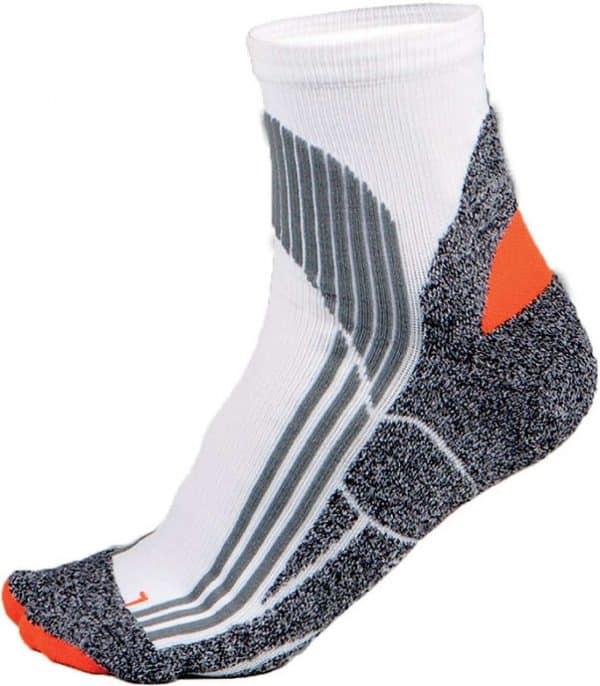White/Grey/Orange Proact TECHNICAL SPORTS SOCKS Sport