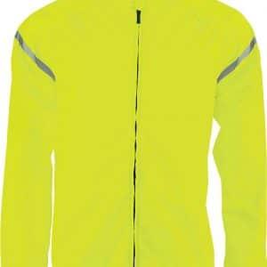 Fluorescent Yellow Proact UNISEX CYCLING JACKET Sport