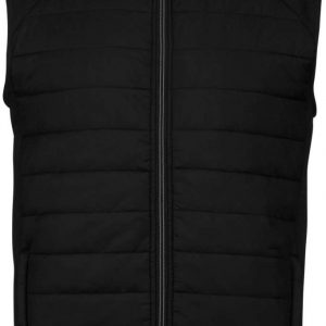 Black/Black Proact DUAL-FABRIC SLEEVELESS SPORTS JACKET Sport