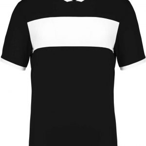 Black/White Proact ADULT SHORT SLEEVE JERSEY Sport
