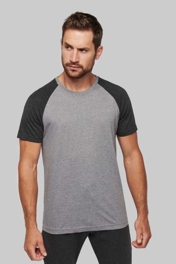 Proact ADULT TWO-TONE SPORTS SHORT SLEEVE T-SHIRT Sport