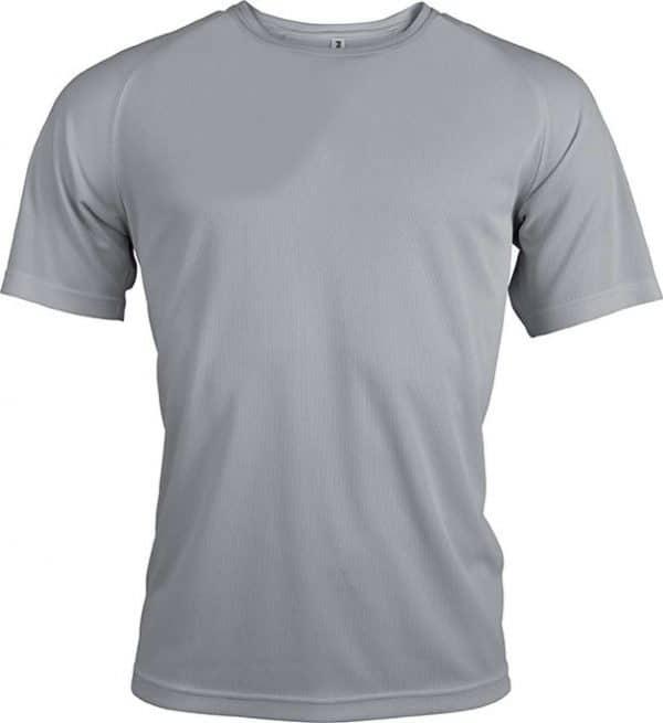 Fine Grey Proact MEN'S SHORT SLEEVE SPORTS T-SHIRT Sport