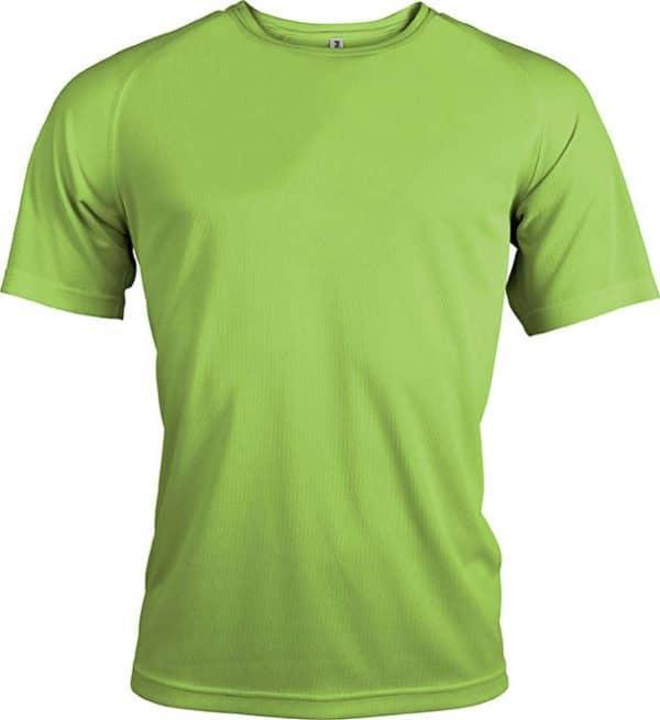 Lime Proact MEN'S SHORT SLEEVE SPORTS T-SHIRT Sport