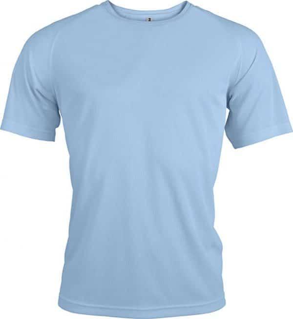 Sky Blue Proact MEN'S SHORT SLEEVE SPORTS T-SHIRT Sport