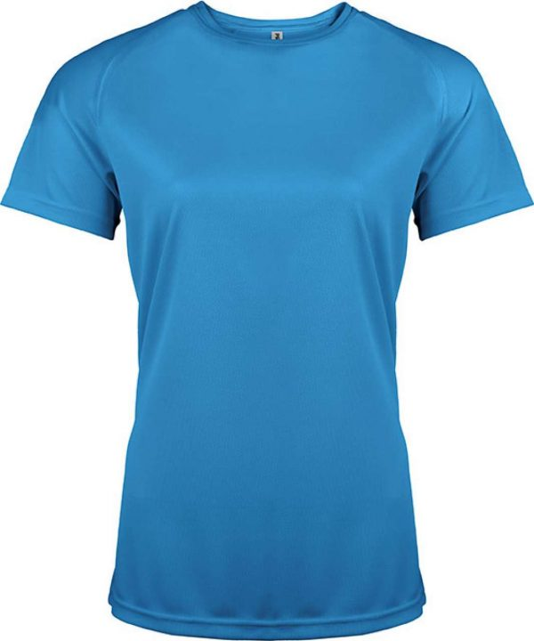 Sporty Royal Blue Proact LADIES' SHORT SLEEVE SPORTS T-SHIRT Sport