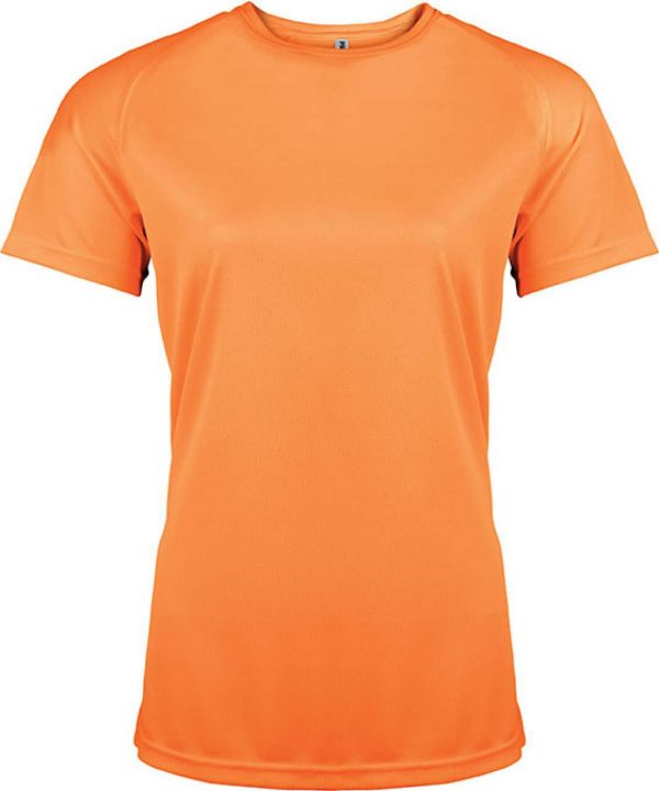 Orange Proact LADIES' SHORT SLEEVE SPORTS T-SHIRT Sport