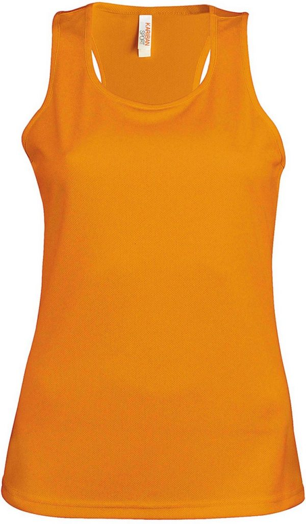 Orange Proact LADIES' SPORTS VEST Sport