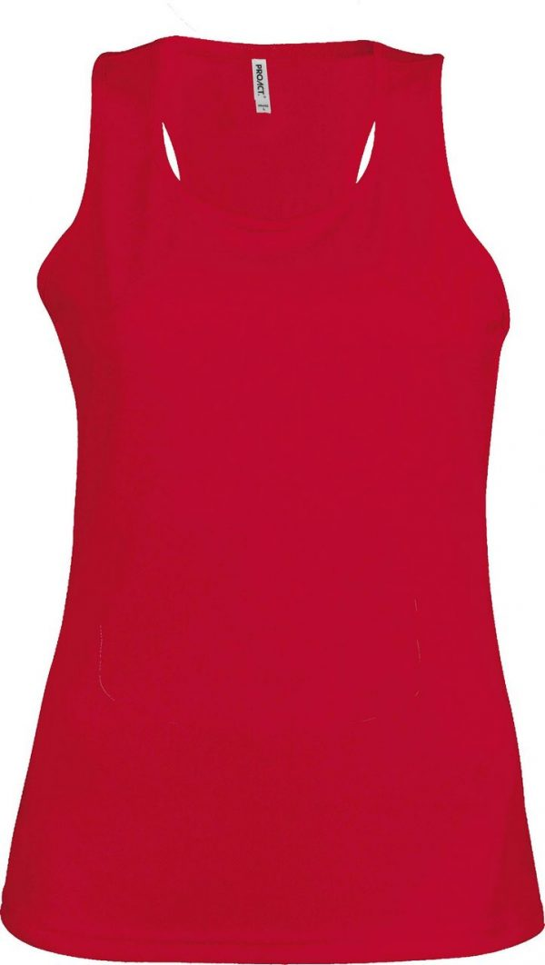 Red Proact LADIES' SPORTS VEST Sport