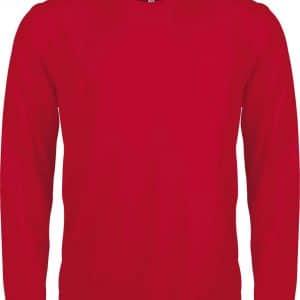 Red Proact MEN'S LONG SLEEVE SPORTS T-SHIRT Sport