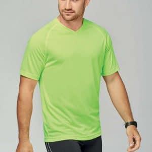 Proact MEN'S V-NECK SHORT SLEEVE SPORTS T-SHIRT Sport