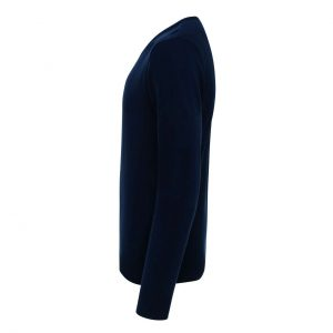 Navy Premier 'ESSENTIAL' ACRYLIC MEN'S V-NECK SWEATER Formaruhák