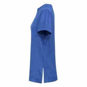 Blue Heather Premier 'VIOLA' LINEN-LOOK CUT NECK BEAUTY TUNIC Formaruhák