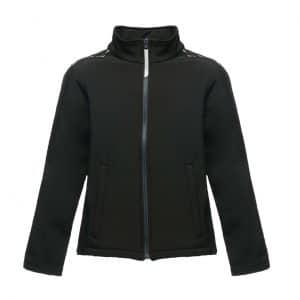 Black/Seal Grey Regatta KIDS CLASSMATE - SOFTSHELL Gyermek ruházat