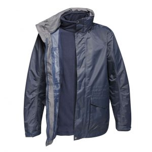 Navy/Navy Regatta MEN'S BENSON III - BREATHABLE 3 IN 1 JACKET Kabátok