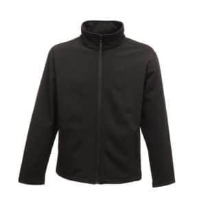 Black/Black Regatta CLASSIC PRINTABLE LIGHTWEIGHT SOFTSHELL Polár & Softshell