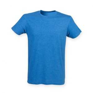 Blue Triblend Skinnifit MEN'S TRIBLEND T Pólók/T-Shirt