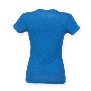 Blue Triblend Skinnifit LADIE'S TRIBLEND T Pólók/T-Shirt