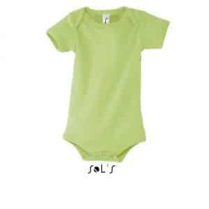 Apple Green SOL'S BAMBINO - BABY BODYSUIT Gyermek ruházat