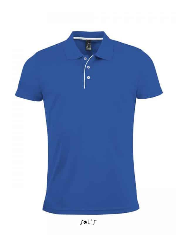 Royal Blue SOL'S PERFORMER MEN - SPORTS POLO SHIRT Sport
