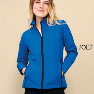 SOL'S RACE WOMEN - SOFTSHELL ZIP JACKET Polár & Softshell