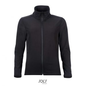 Black SOL'S RACE WOMEN - SOFTSHELL ZIP JACKET Polár & Softshell