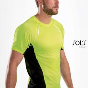 SOL'S SYDNEY MEN - SHORT SLEEVE RUNNING T-SHIRT Sport