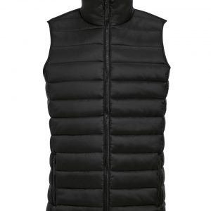 Black SOL'S WAVE MEN - LIGHTWEIGHT BODYWARMER Mellények