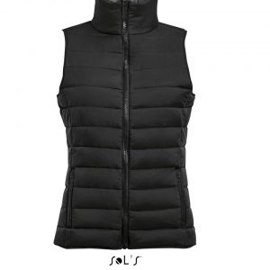 Black SOL'S WAVE WOMEN - LIGHTWEIGHT BODYWARMER Mellények