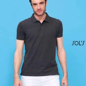 SOL'S PHOENIX MEN COTTON-ELASTANE POLO SHIRT Galléros pólók