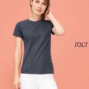 SOL'S REGENT WOMEN - ROUND COLLAR T-SHIRT Pólók/T-Shirt
