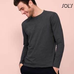 SOL'S IMPERIAL LSL MEN - LONG-SLEEVE T-SHIRT Pólók/T-Shirt