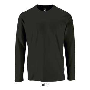 Deep Black SOL'S IMPERIAL LSL MEN - LONG-SLEEVE T-SHIRT Pólók/T-Shirt