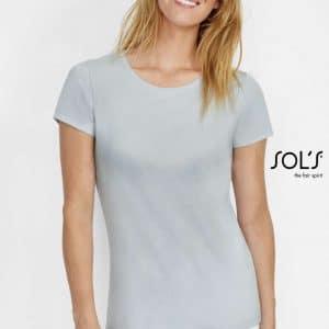 SOL'S MARTIN WOMEN - ROUND-NECK FITTED JERSEY T-SHIRT Pólók/T-Shirt