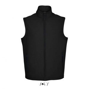 Black SOL'S RACE BW MEN - SOFTSHELL BODYWARMER Mellények