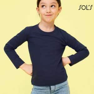 SOL'S IMPERIAL LSL KIDS - LONG SLEEVE T-SHIRT Gyermek ruházat