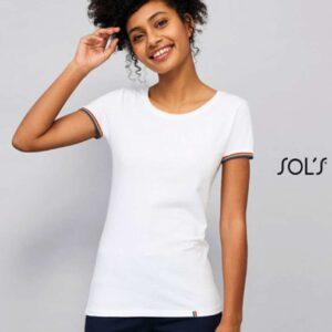 SOL'S RAINBOW WOMEN - SHORT SLEEVE T-SHIRT Pólók/T-Shirt