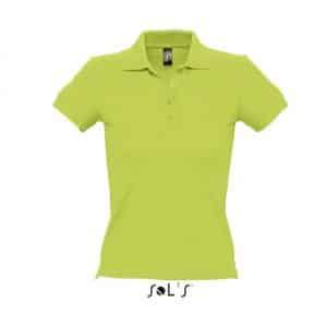 Apple Green SOL'S PEOPLE - WOMEN'S POLO SHIRT Galléros pólók
