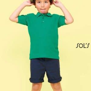 SOL'S SUMMER II KIDS - POLO SHIRT Gyermek ruházat