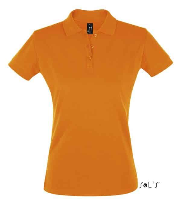 Orange SOL'S PERFECT WOMEN POLO SHIRT Galléros pólók