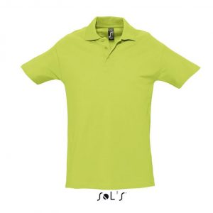 Apple Green SOL'S SPRING II - MEN'S PIQUE POLO SHIRT Galléros pólók
